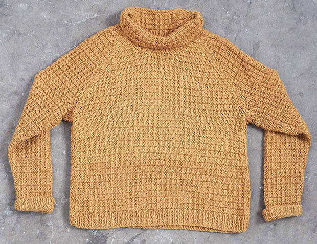 Gold Roll Neck Jumper (00001)