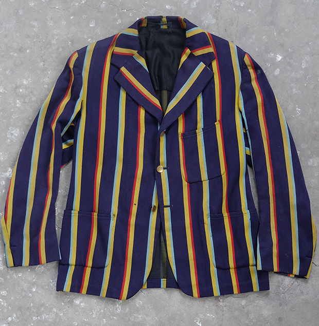 Striped University Blazer (00128)