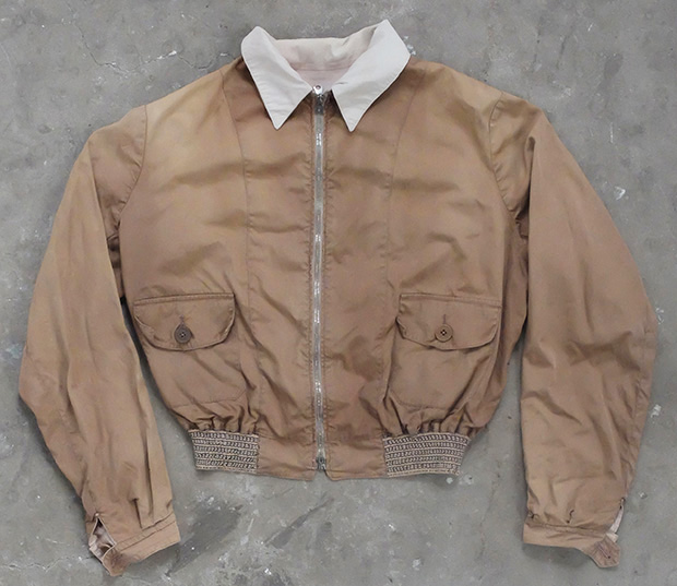 1930s English Lightweight Bomber Sports Jacket