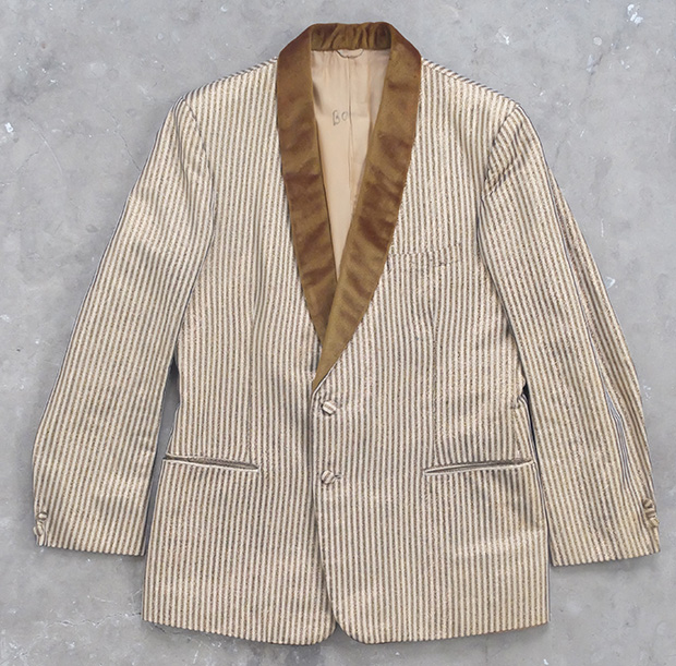 Gold Lame Smoking Jacket (00204)