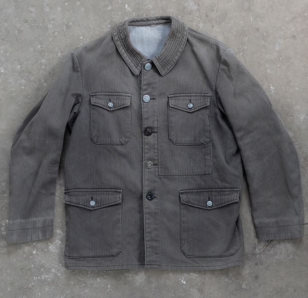 1930s Cord French Hunting Jacket (00245)