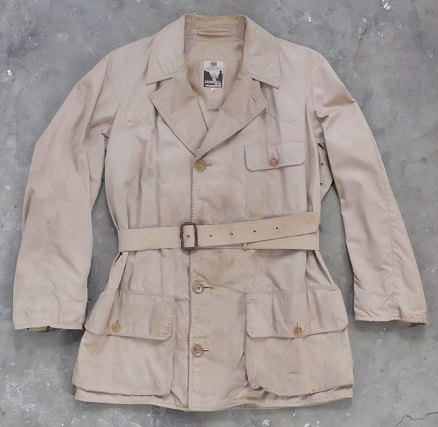 Khaki Grenfell Safari/hiking Jacket