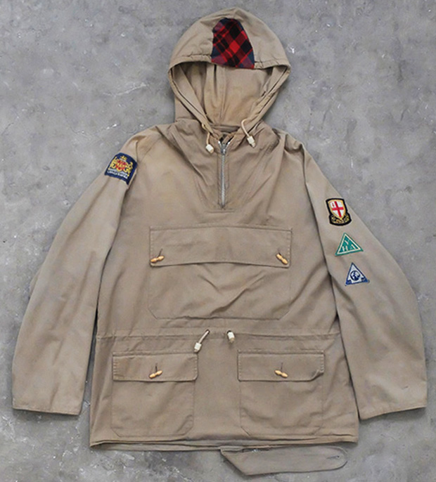 1950s Belstaff Mountain Smock With Badges (00341)