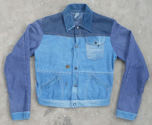 1980s Multi Denim Handmade Jacket (00420)