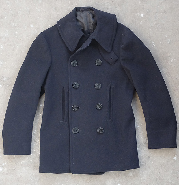 10 Button US Navy Pea Coat (00687)