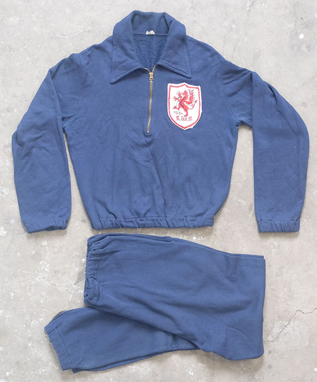 1950sBritish Army Royal Welsh Fusiliers Tracksuit (01133)