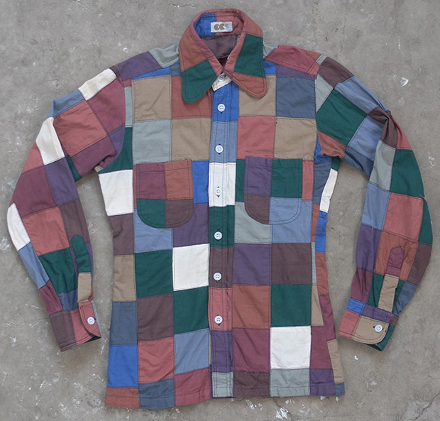 1970s CCS Patchwork Shirt