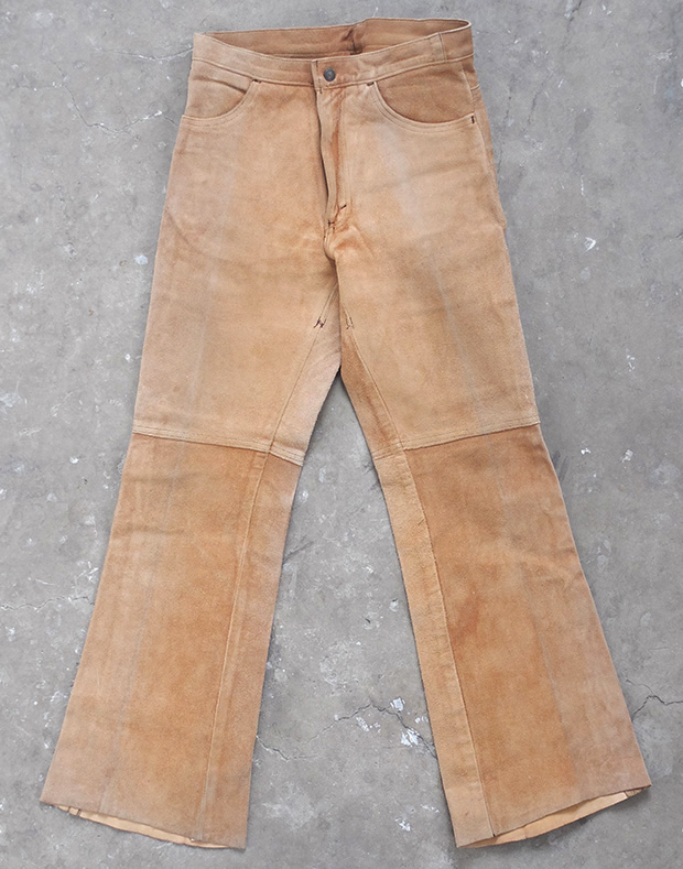 1960s Levis Suede Bootcut Flares