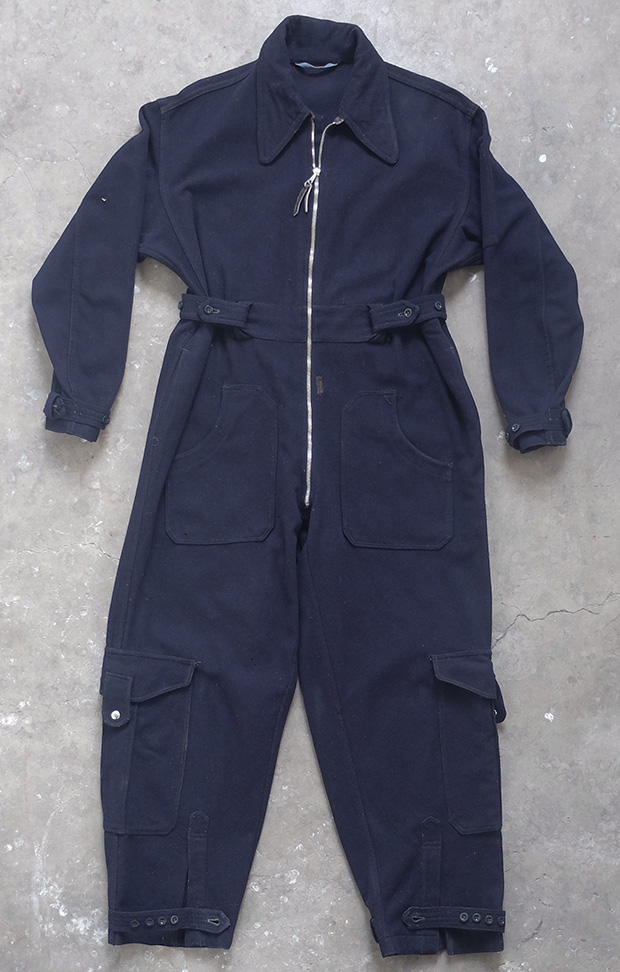 WW2 British Wool Overalls/Siren Suit (01517)