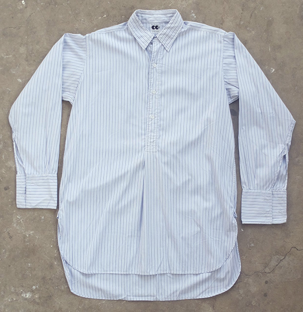 1940s CC41 Tabbed Collar Shirt (01528)