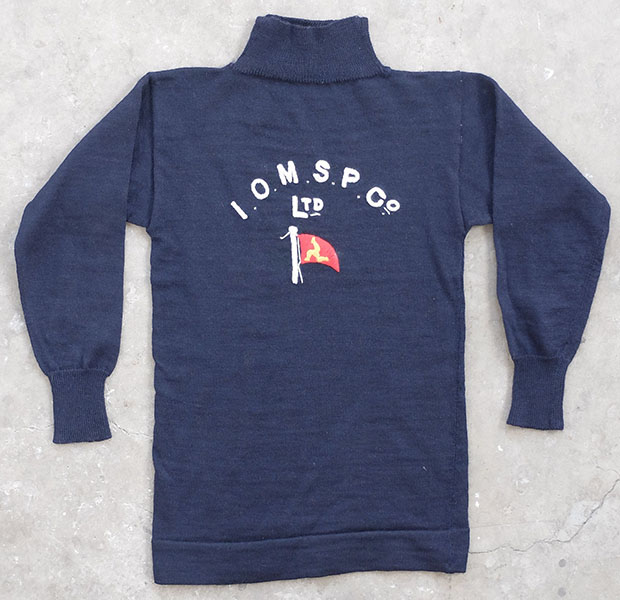 "1950s ""Isle Of White"" Maritime Sweater (01574)"