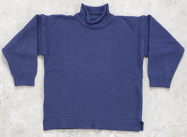 Blue 'Anglessey' Guernsey (01590)